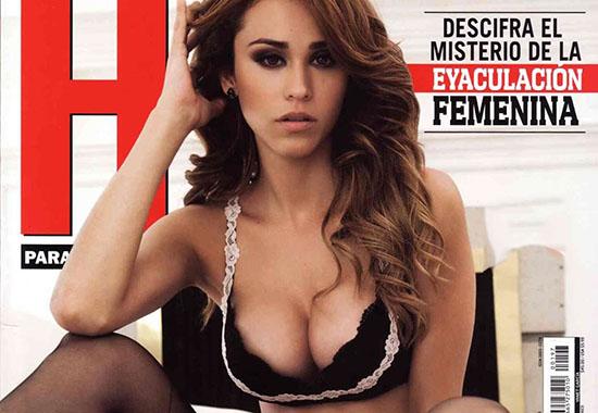 La miss météo Yanet Garcia pose sexy pour H para Hombres