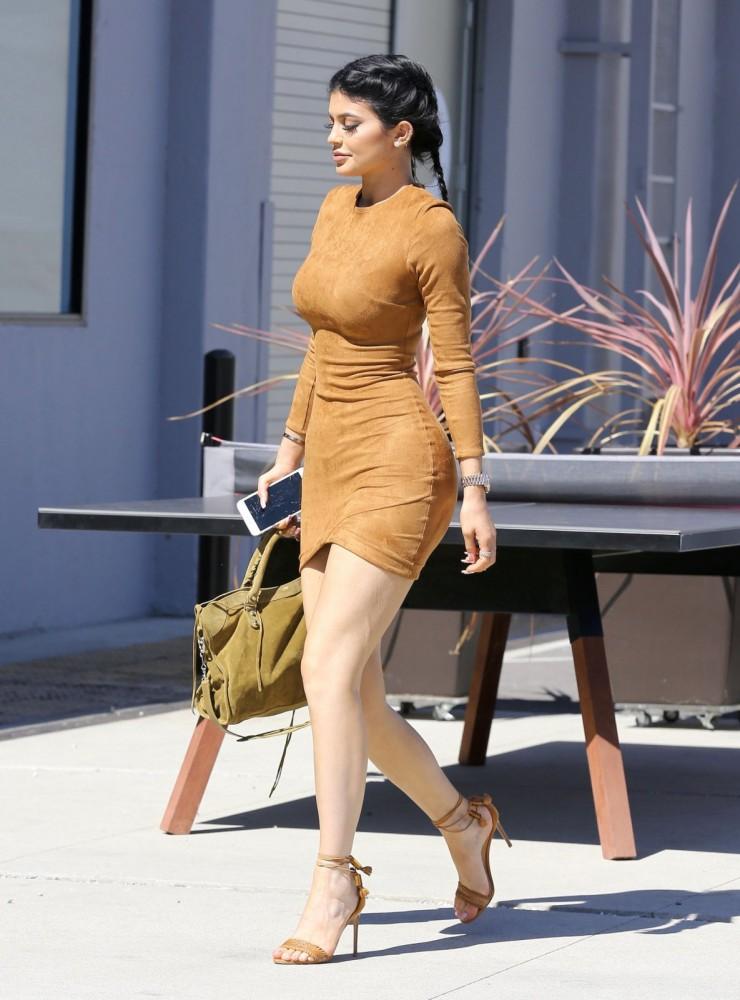 Kylie Jenner et Tyga à Culver City