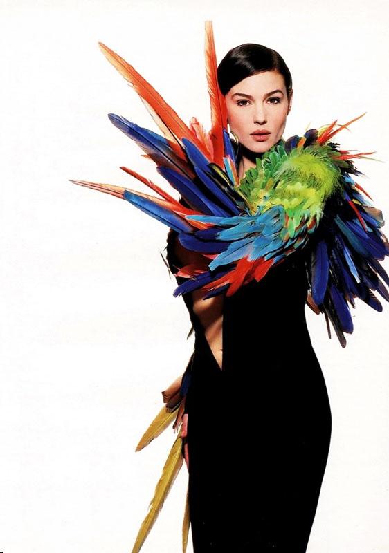 Monica Bellucci pour Madame Figaro 1996