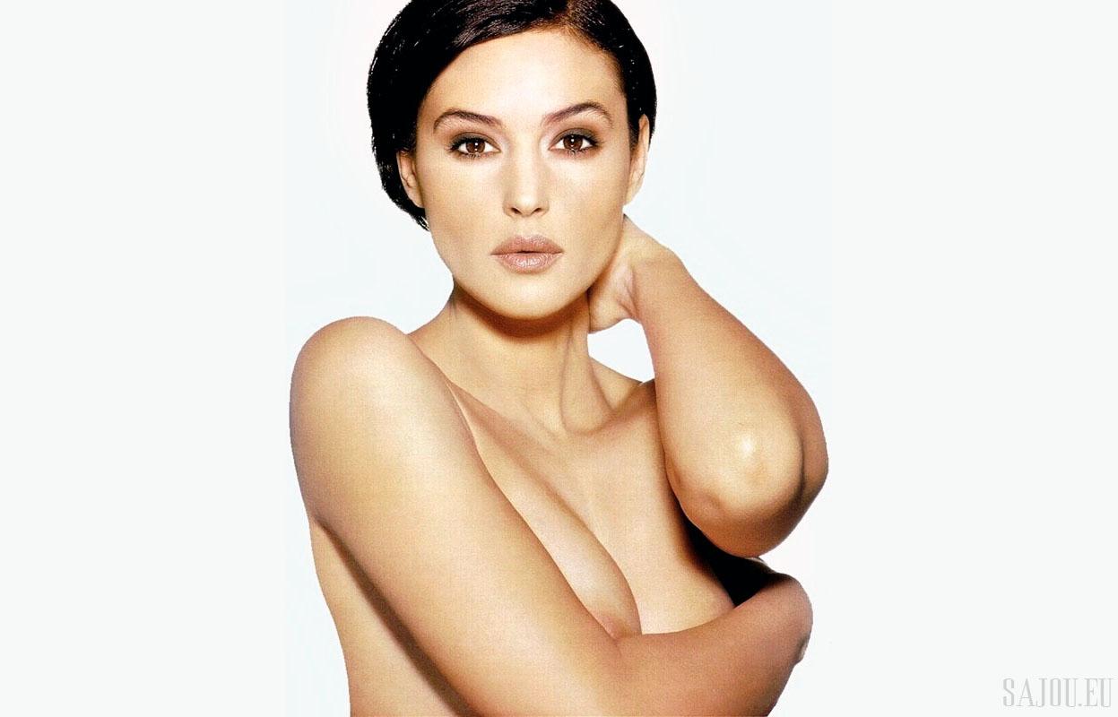 Monica Bellucci pose pour Madame Figaro 1996