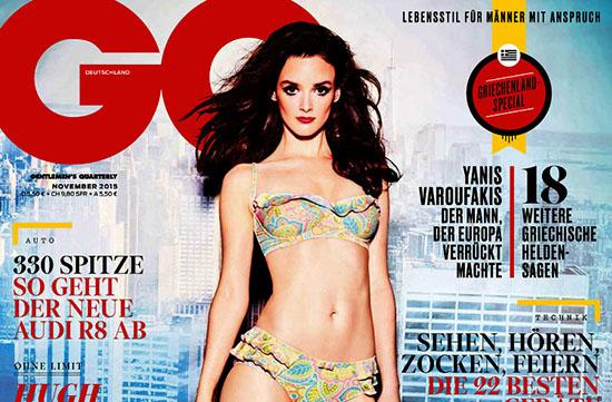 Charlotte Le Bon pose en bikini pour le GQ Allemand