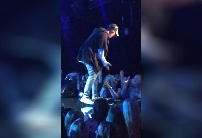 Justin Bieber quitte la scène en plein concert (Norvège)