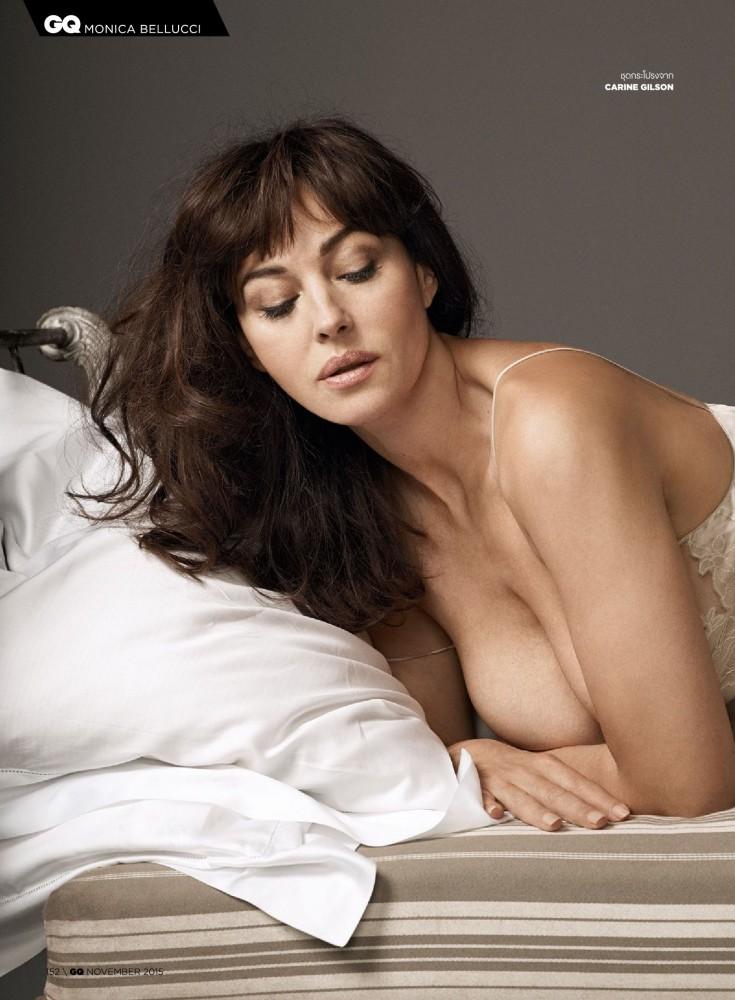 Monica Bellucci pose nue pour GQ