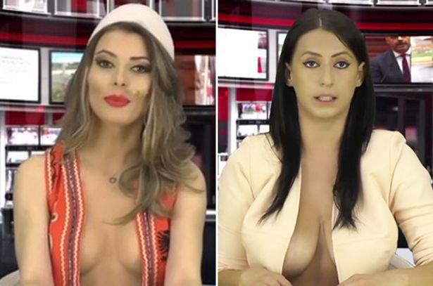 Voici la nouvelle présentatrice sexy du JT en Albanie