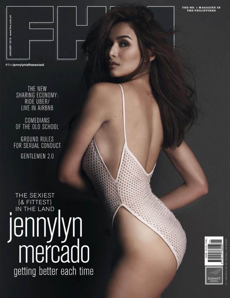 Jennylyn Mercado pose pour FHM Philippines