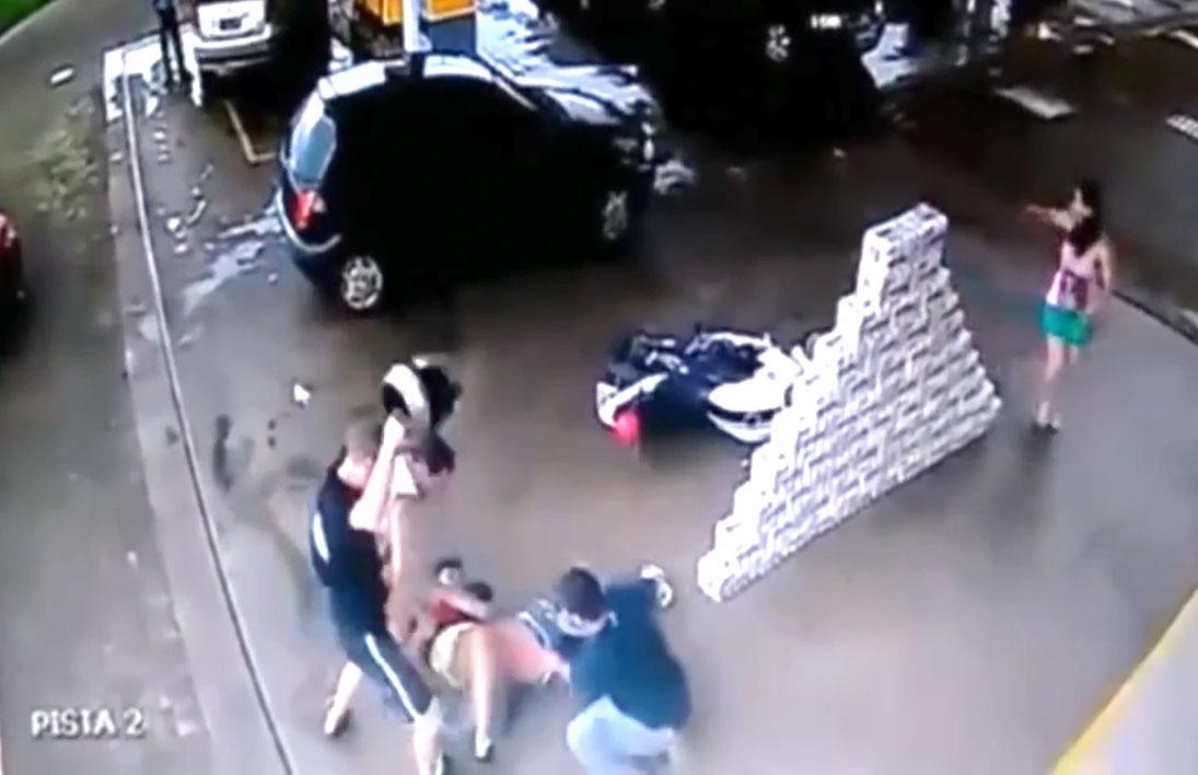 Il tente de voler une moto et se fait maitriser par les témoins