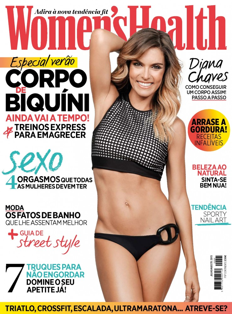 Couverture du magazine Women's Health de Juillet 2015