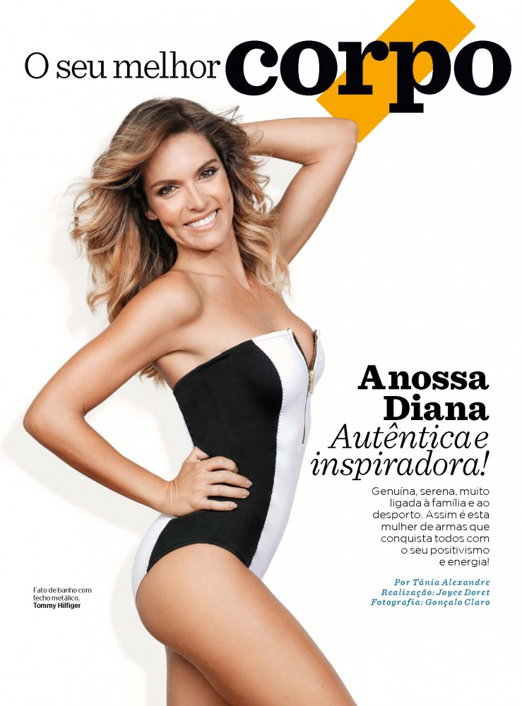 Diana Chaves pose pour Women's Health Portugal