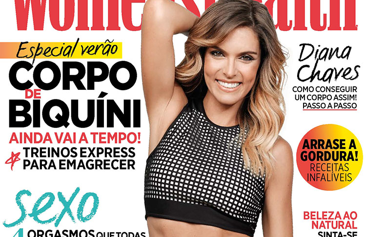 Diana Chaves pose pour le magazine Women's Health