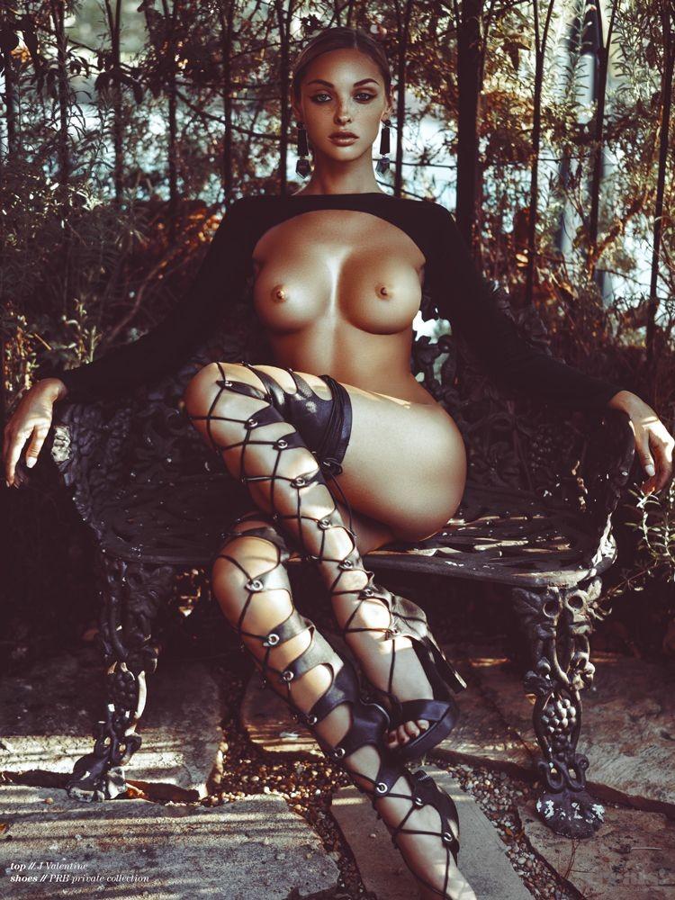 Kristina Sheiter pose nue pour le magazine Treats