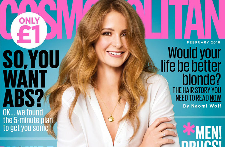 Millie Mackintosh pose pour le magazine Cosmopolitan UK