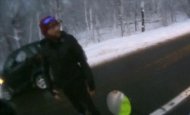 Un motard se fait agressé par un conducteur de Smart en Belgique