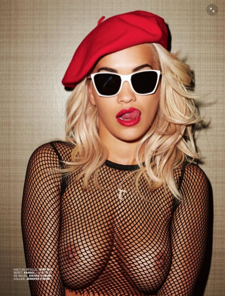 Rita Ora nue dans le magazine LUI