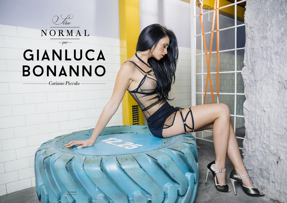 Corinne Piccolo nue par Gianluca Bonanno