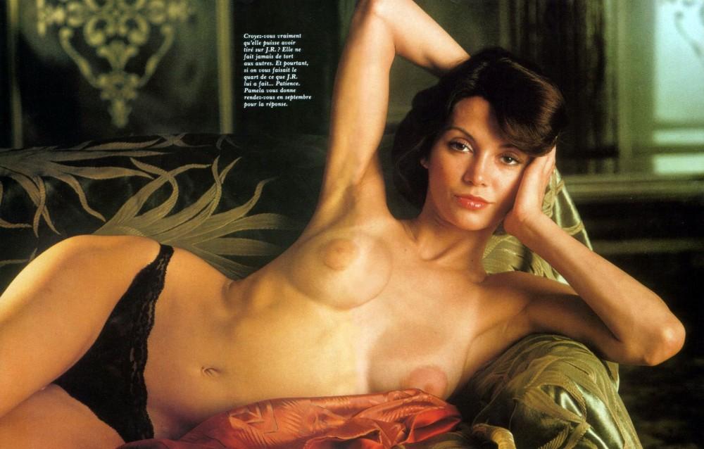 Victoria Principal nue dans le magazine Playboy