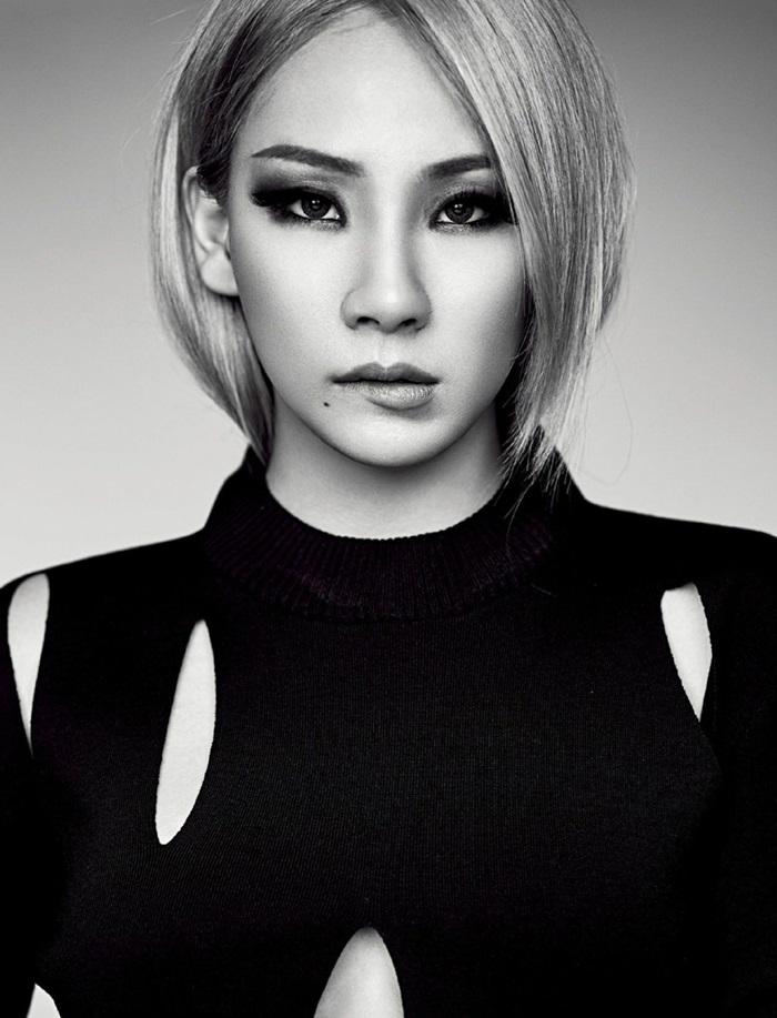 CL pose pour le magazine ELLE Singapour