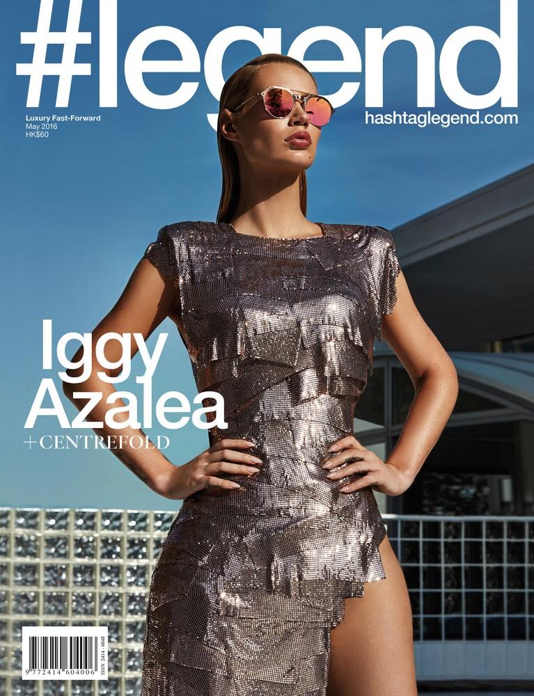Iggy Azalea en couverture du magazine Legend