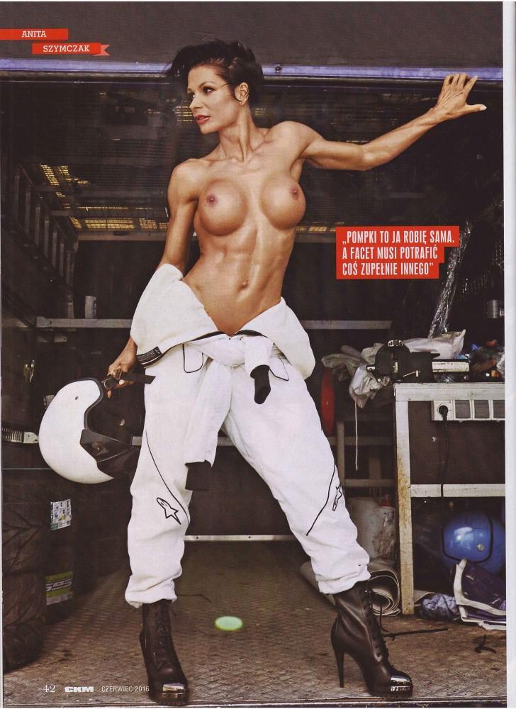 Anita Szymczak pose nue pour le magazine CKM
