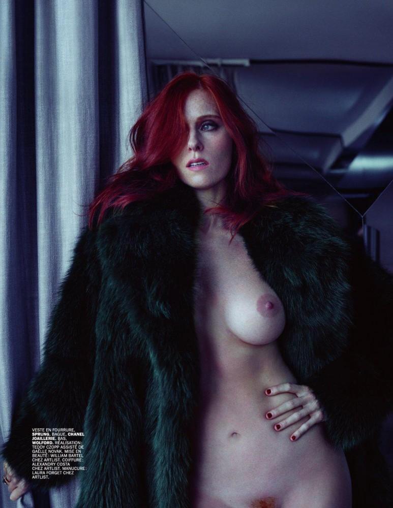 Audrey Fleurot nue dans le magazine Lui