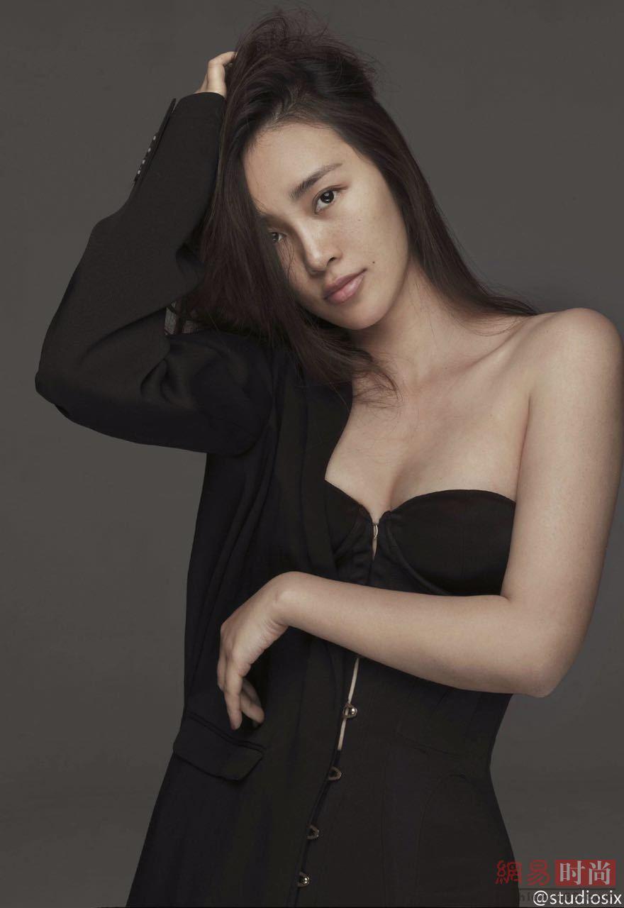 Chen Man pose pour le magazine Marie Claire Chine