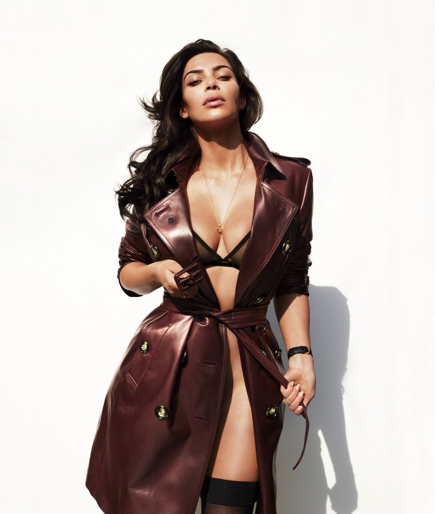 Kim Kardashian nue dans le magazine GQ