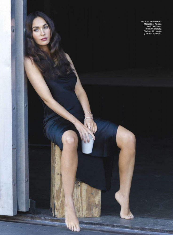 Megan Fox pose pour le magazine Glamour sud-américain
