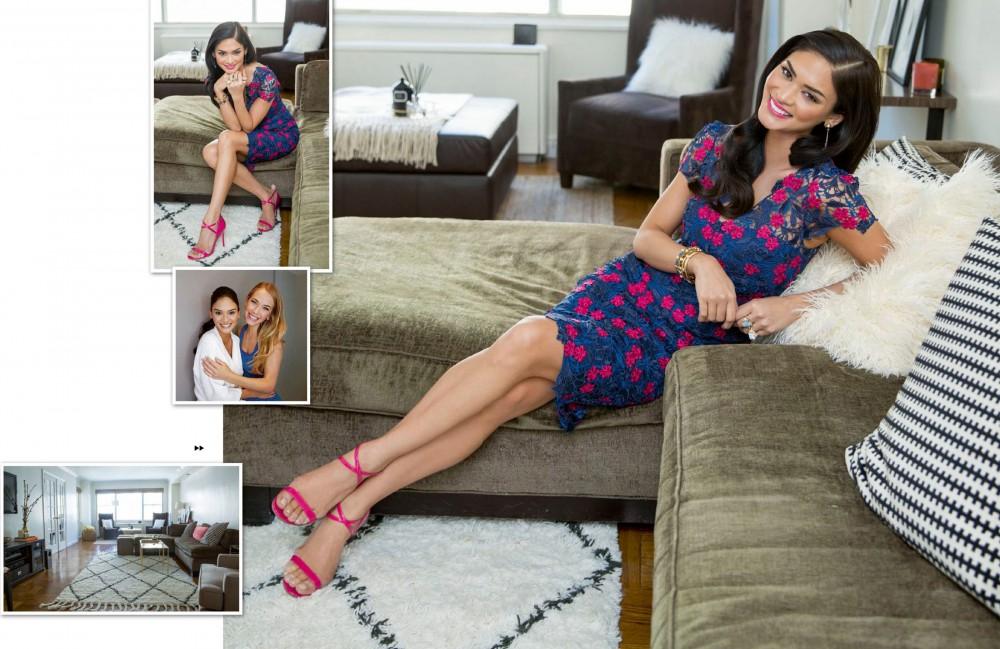 Pia Wurtzbach pose pour le magazine Yes! Philippines