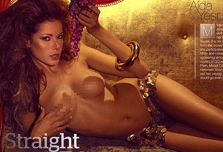 Aida Yespica pose nue pour Manic Magazine