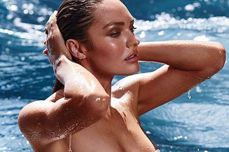 Candice Swanepoel pour Victoria's Secret maillots de bains – 12/2014