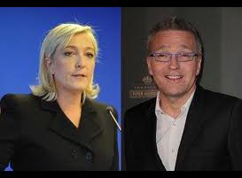 Clash entre Marine Le Pen et Laurent Ruquier