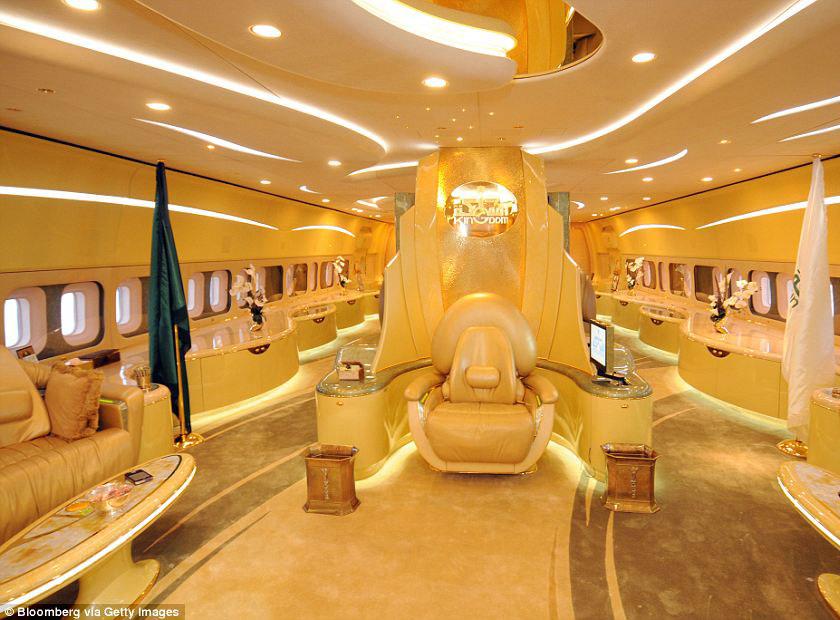 Dans l'intimité des plus luxueux jet privés