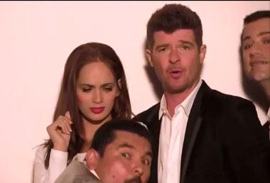 Jimmy Kimmel s'incruste dans le clip de Robin Thicke