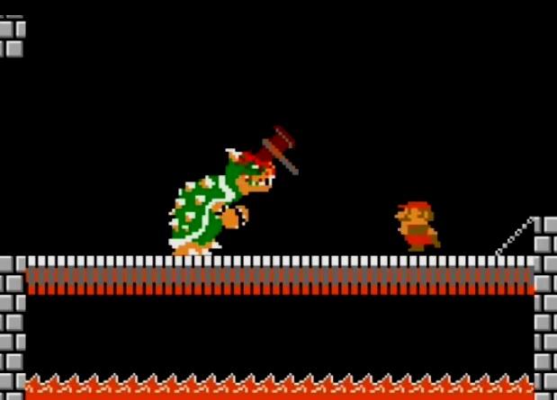 Quand Super Mario pète un plomb…