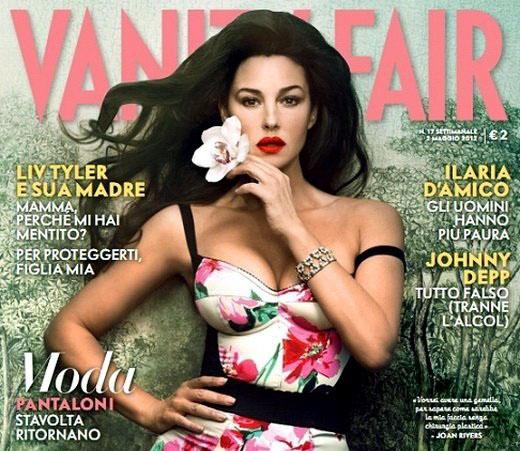 Monica Bellucci pour Vanity Fair Italien