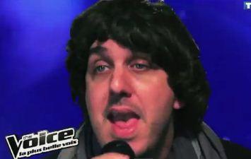 Parodie de l'émission The voice par Luciano