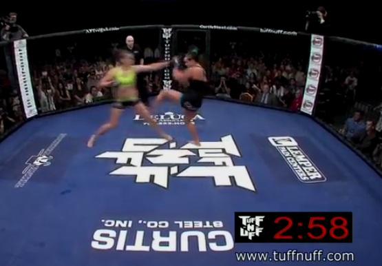 UFC féminin : un KO en quelques secondes
