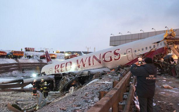 Crash de l'avion russe filmé en DashCam