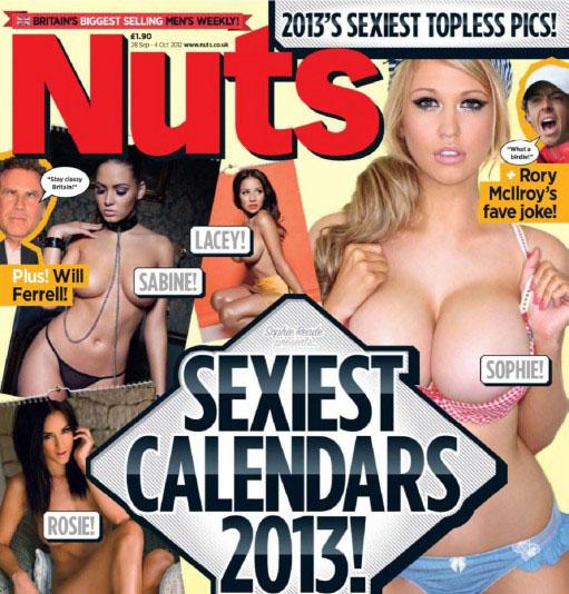 Les filles du calendrier de Nuts