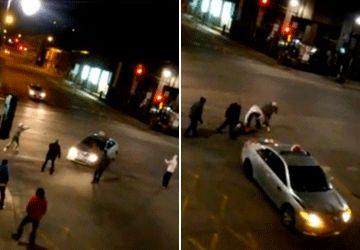 Un taxi écrase un jeune homme (choc, +18 !)