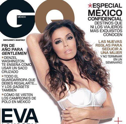 Eva Longoria sexy pour GQ Mexique