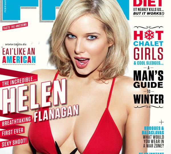 Helen Flanagan pose sexy pour FHM GB