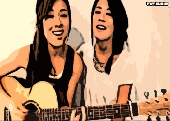 Reprise acoustique à la guitare de Gangnam Style