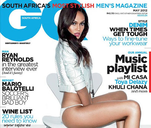 Le top model Joan Smalls pose sexy pour GQ
