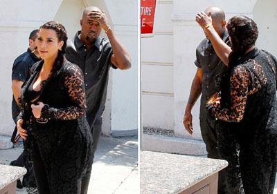 Kanye West se prend un poteau dans la tête