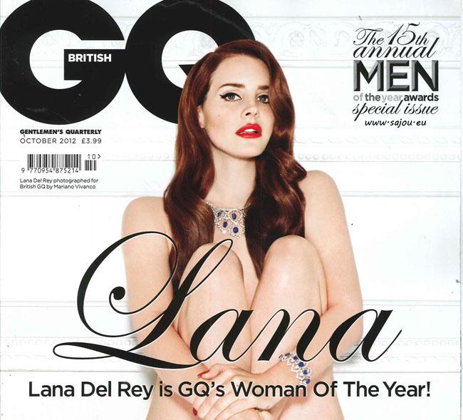 Lana Del Rey pose nue pour GQ anglais