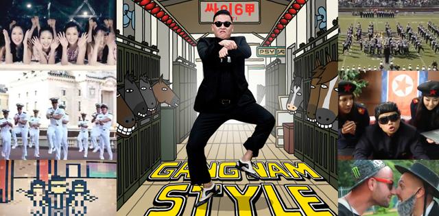 Toutes les meilleures parodies de Gangnam Style