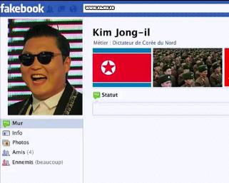 Psy est en réalité Kim Jong Il