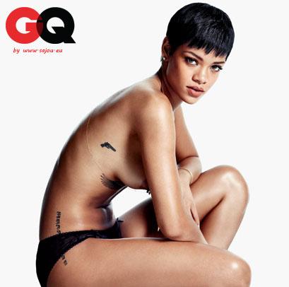 Rihanna nue et sexy pour GQ décembre 2012