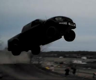 Un saut innatendu en pickup