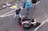 Il se fait voler son scooter pendant les émeutes